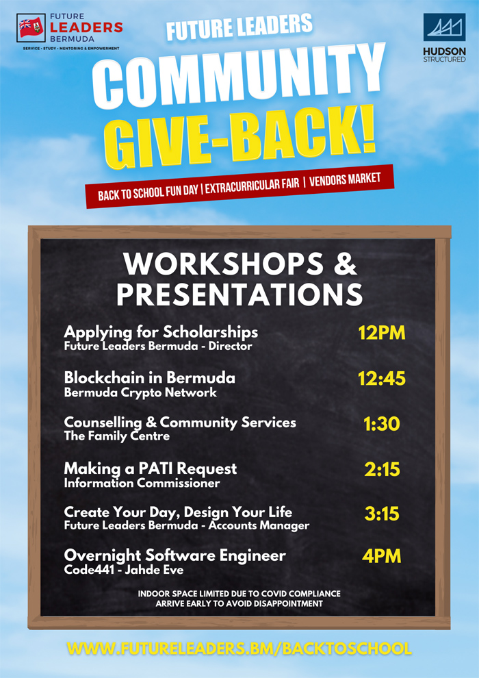 Future Leaders Bermuda Community Give-Back Aug 2021 (4)