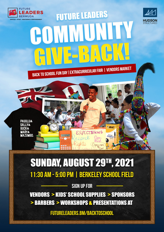 Future Leaders Commnuity Give-Back August 2021