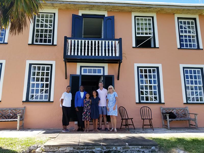 Governor & Family At Verdmont Historic House & Gardens Bermuda Aug 2021