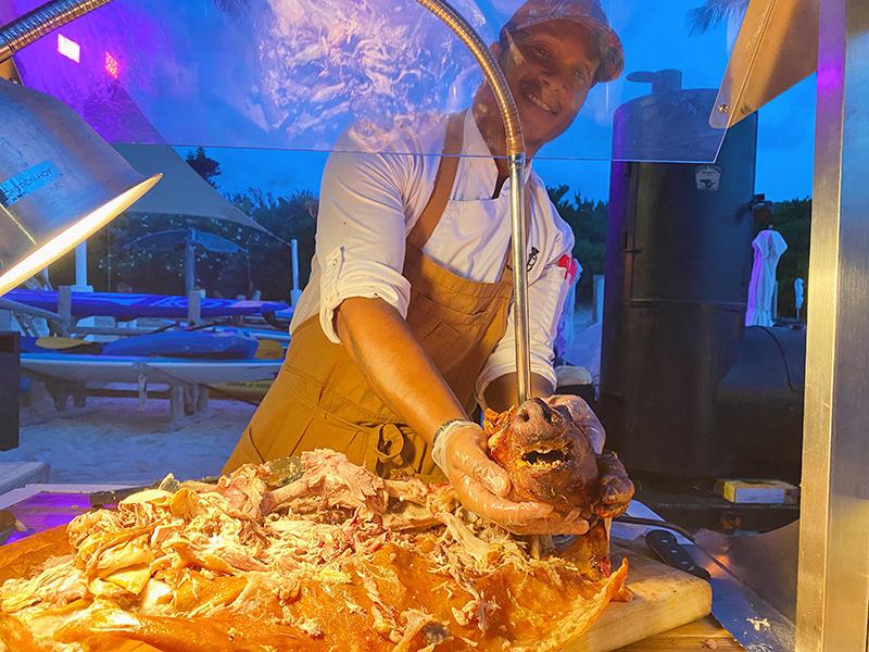 Island BBQ At Hamilton Princess Bermuda Aug 2021 3