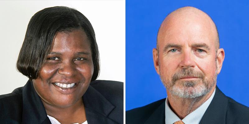 Marva-Jean O'Brien & Christopher Farrow Bermuda Aug 2021
