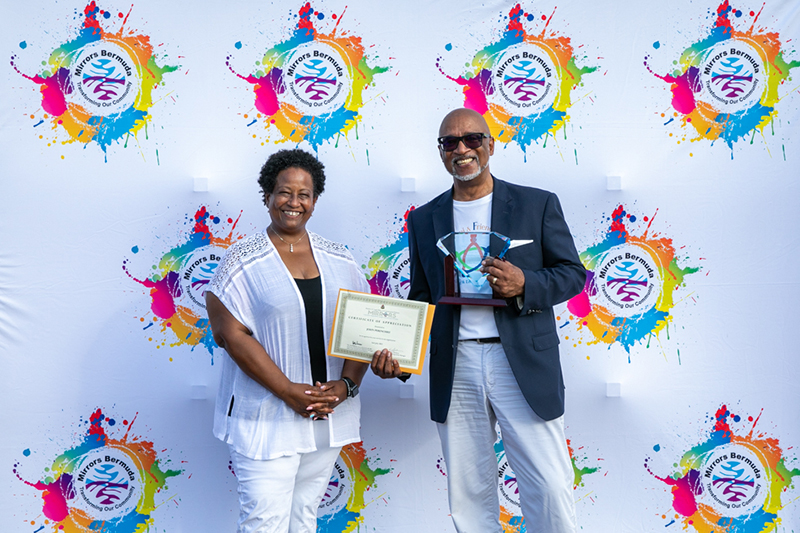 Mirrors Honours Volunteers & Service Partners Bermuda Aug 2021 3