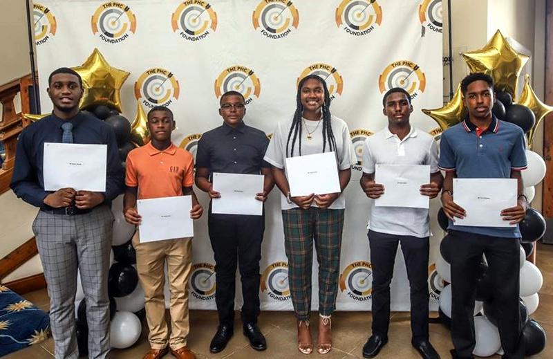 PHC Foundation Annual Scholarship Awards Bermuda Aug 2021