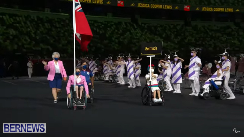 Paralympic Games Opening Ceremony Bermuda Aug 24 2021 (1)