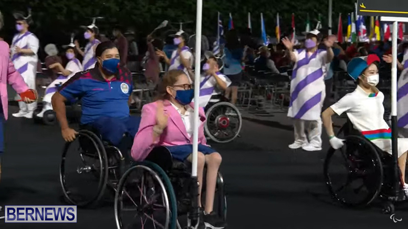 Paralympic Games Opening Ceremony Bermuda Aug 24 2021 (4)