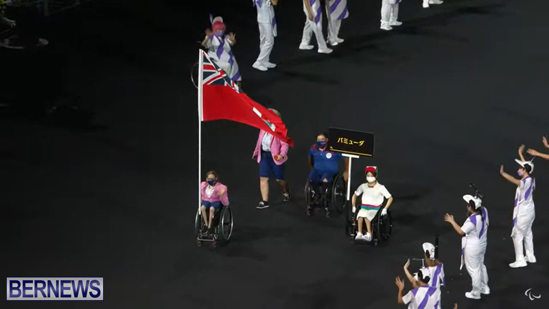 Paralympic Games Opening Ceremony Bermuda Aug 24 2021 (5)