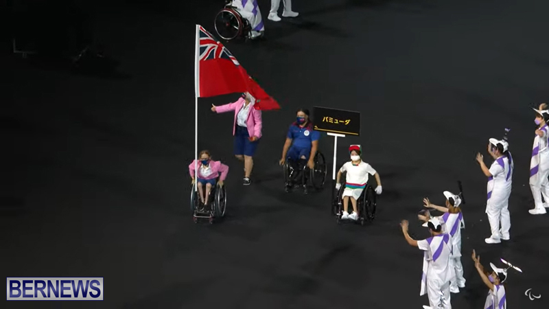 Paralympic Games Opening Ceremony Bermuda Aug 24 2021 (6)
