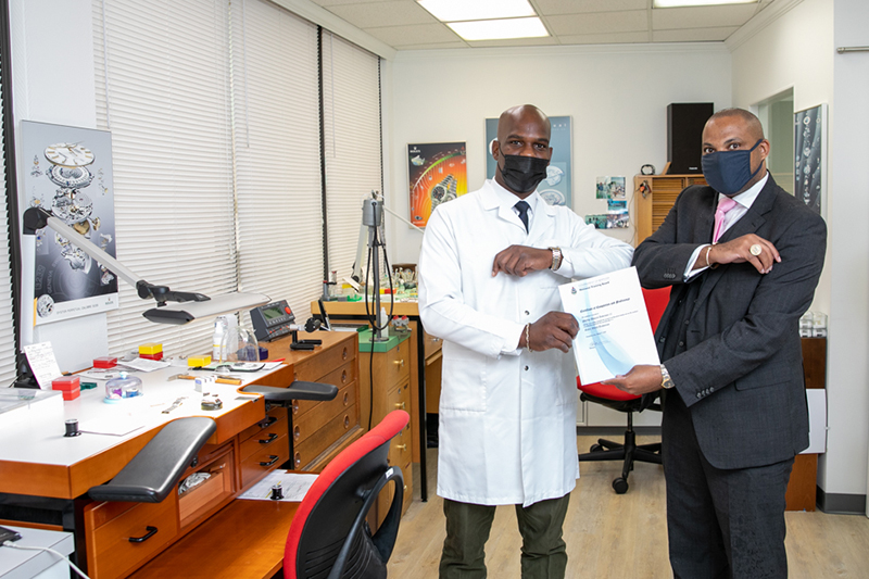 Phillip Anderson II Fully Certified Rolex WatchMaker Bermuda Aug 2021 1