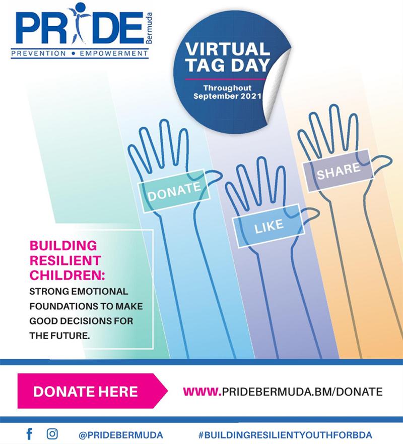 Pride Bermuda Virtual Tag Aug 2021