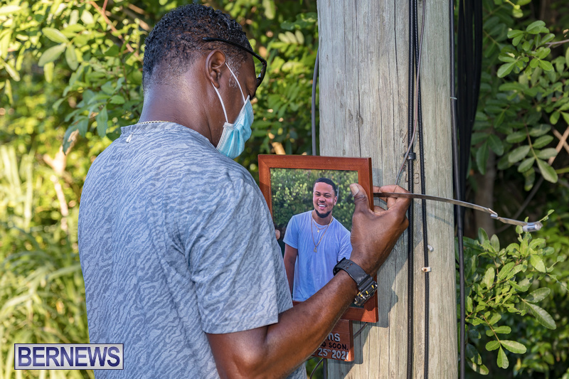Ra-Che Williams memorial Bermuda Aug 19 2021 (4)