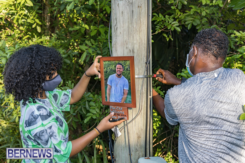 Ra-Che Williams memorial Bermuda Aug 19 2021 (5)
