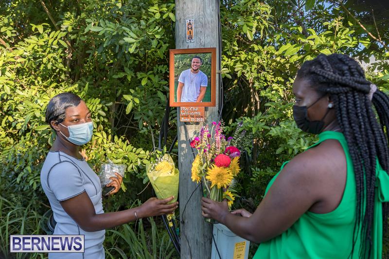 Ra-Che Williams memorial Bermuda Aug 19 2021 (6)