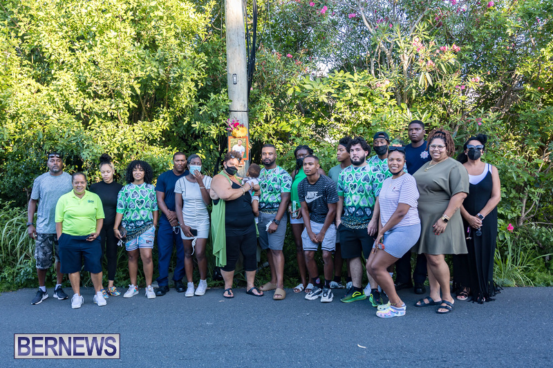Ra-Che Williams memorial Bermuda Aug 19 2021 (7)