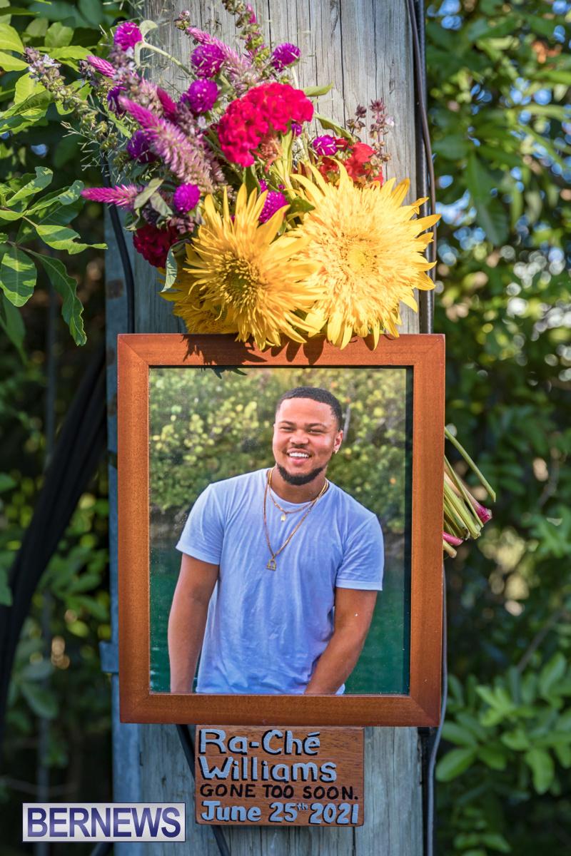 Ra-Che Williams memorial Bermuda Aug 19 2021 (8)