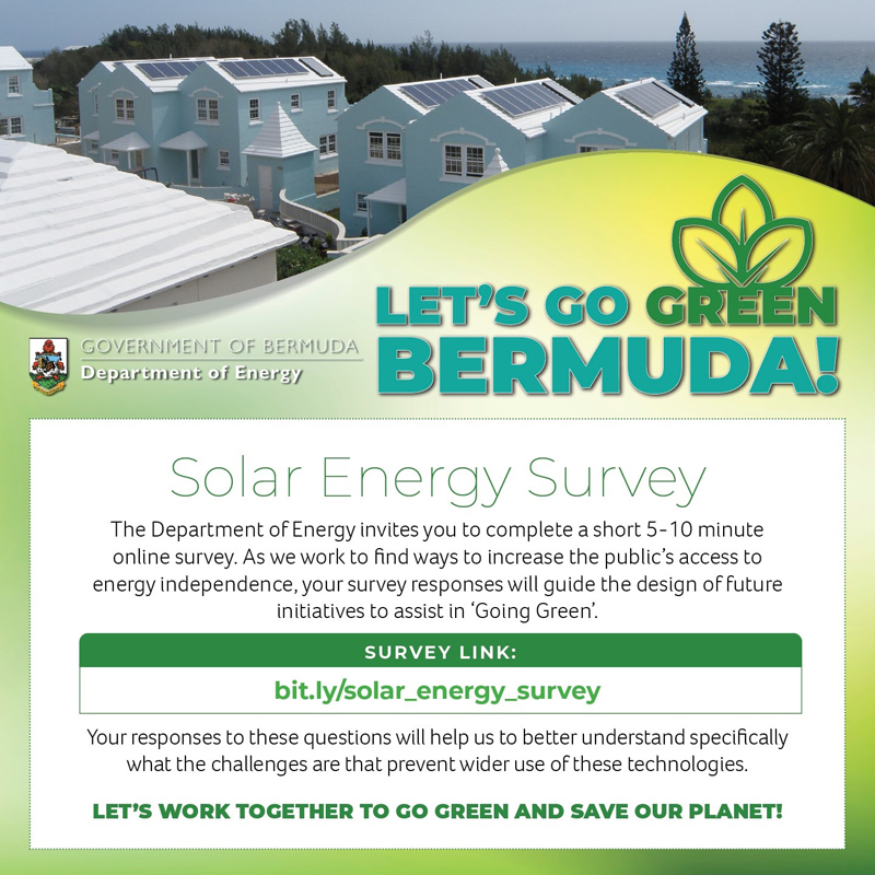 Solar Energy Survey Bermuda Aug 2021