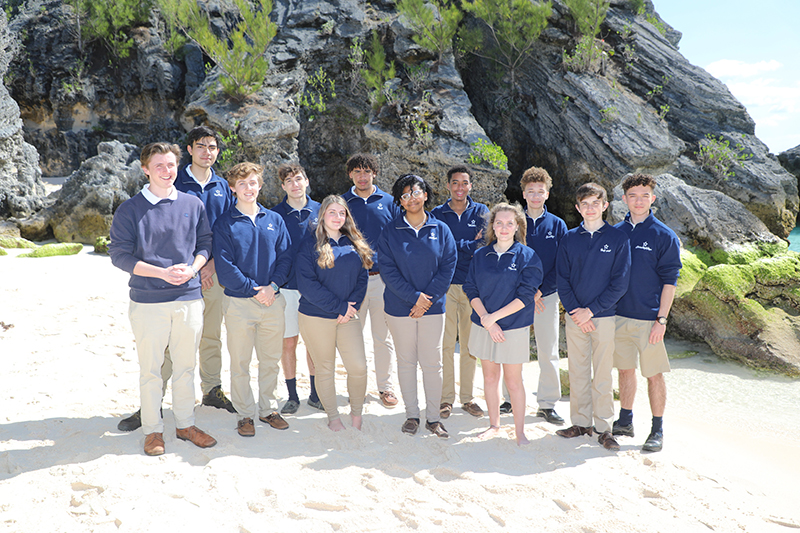 Somersfield Academy IB Diploma Students Bermuda Aug 2021