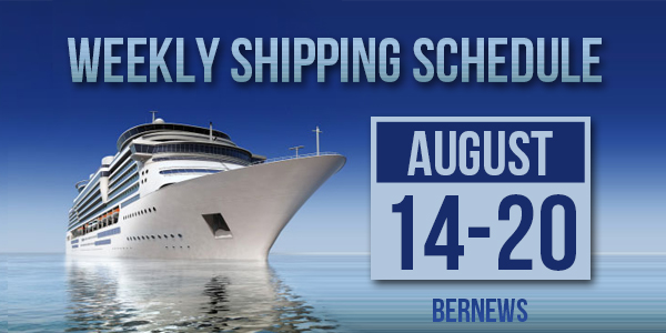 Weekly Shipping Schedule TC August 14 - 20 2021