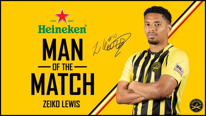 Zeiko Lewis Named Man Of The Match Bermuda Aug 2021