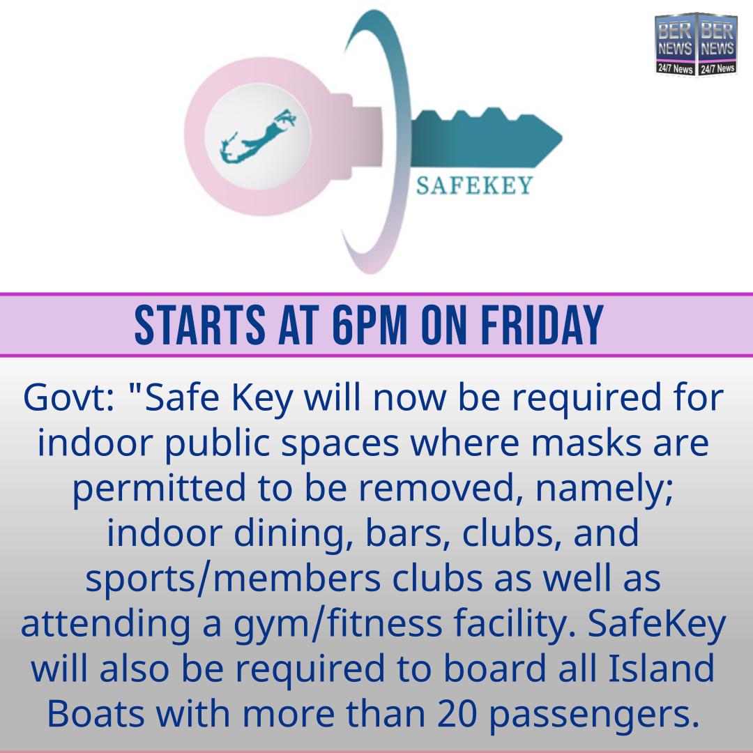 safekey bermuda aug 18 2021