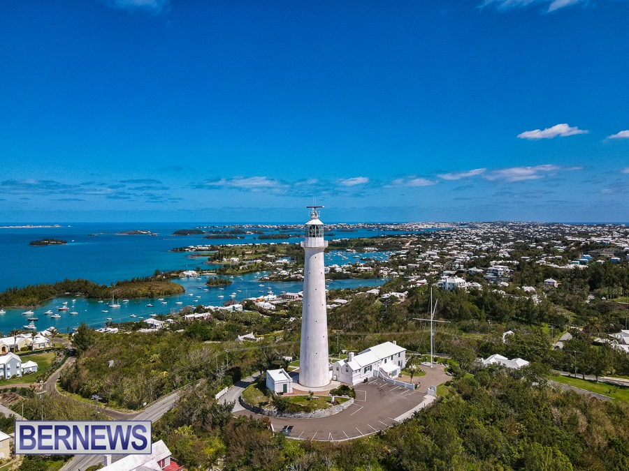795 - One of Bermuda's most famous landmarks, the Gibbs Hill lighthouse