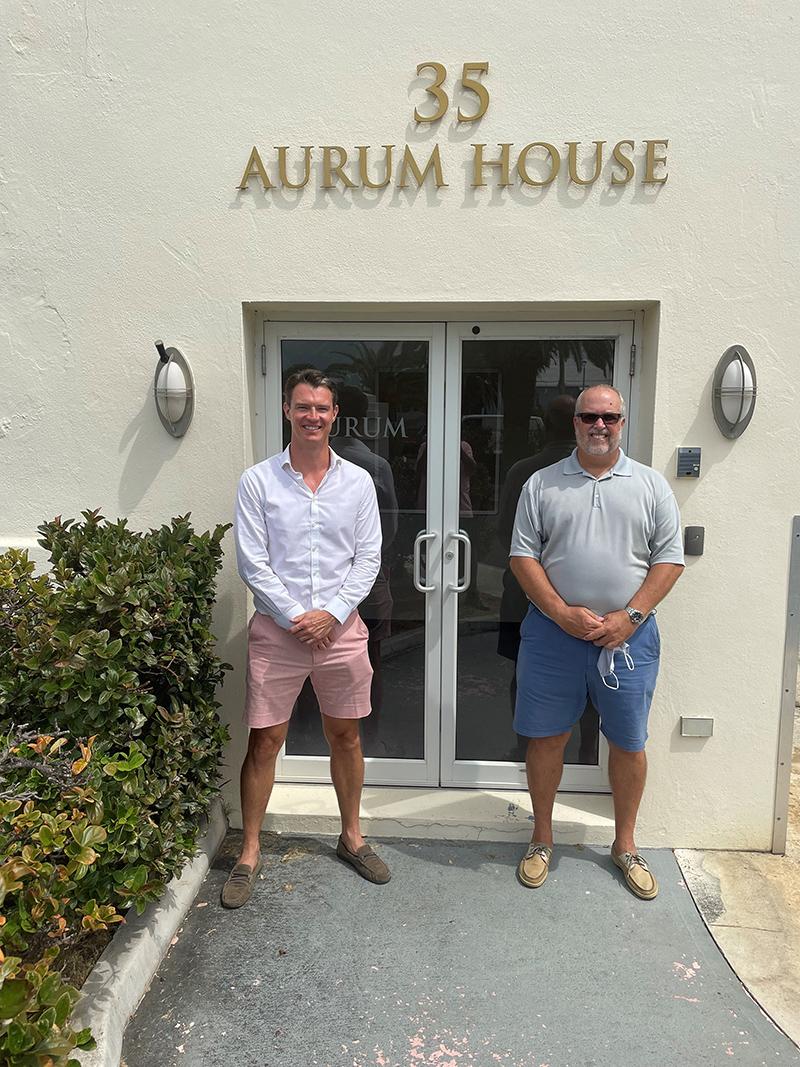 Adam Hopkin & Colin Brown Bermuda Sept 2021