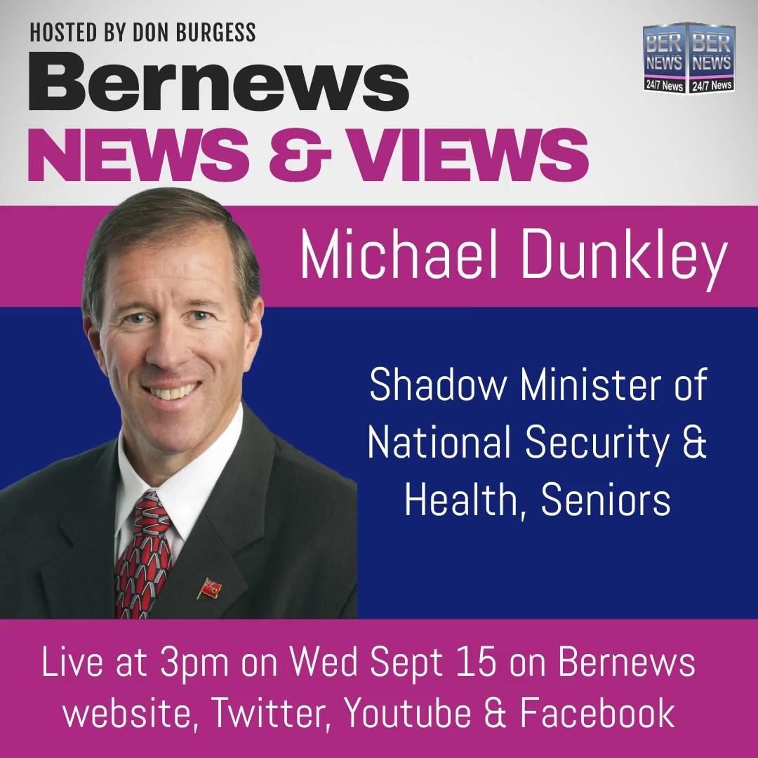BNV Michael Dunkley Sept 15 2021