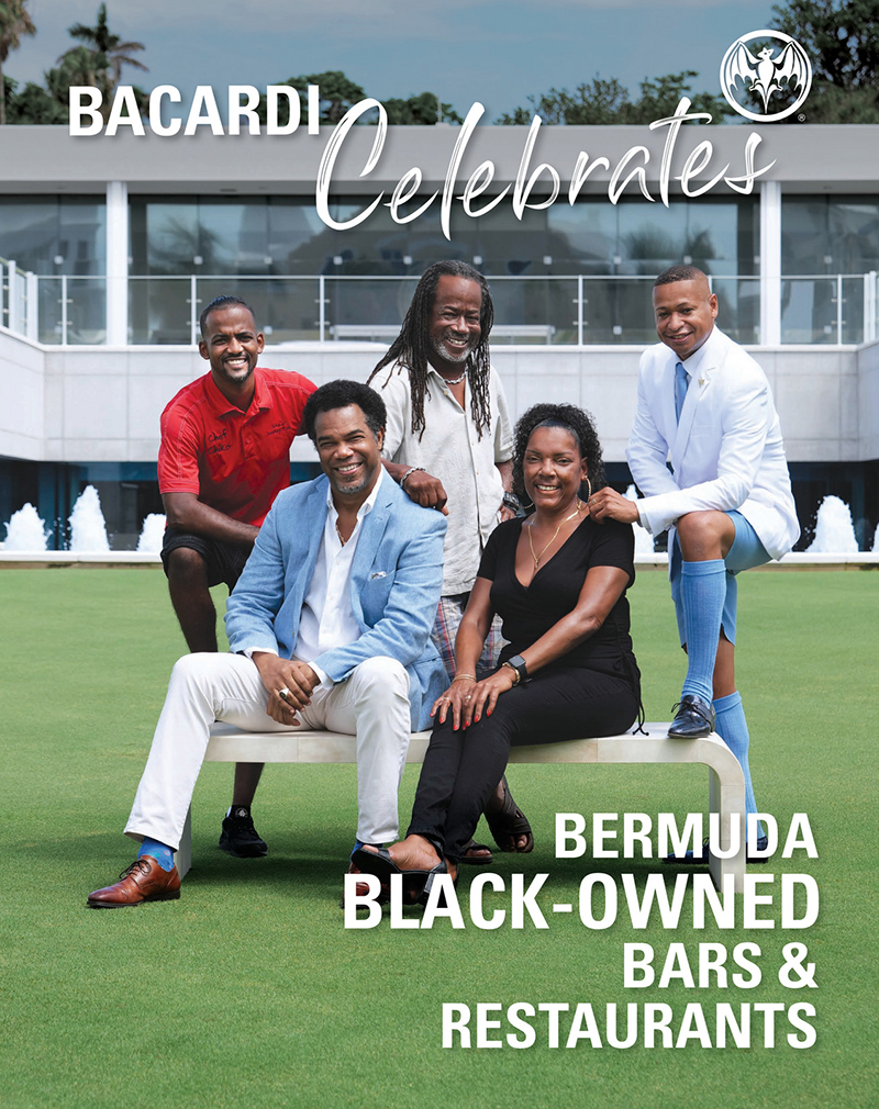 Bacardi Celebrates Black-Owned Bars & Restaurants Bermuda Sept 2021