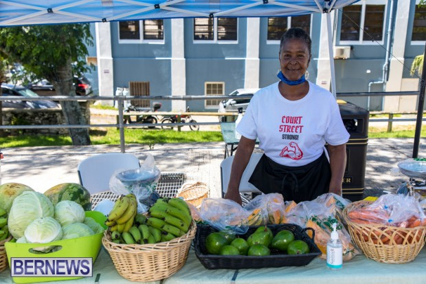 Bermuda Court Street vendors market Hamilton Bermuda Bernews September 5 2021 DF (1)