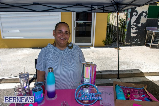 Bermuda Court Street vendors market Hamilton Bermuda Bernews September 5 2021 DF (10)