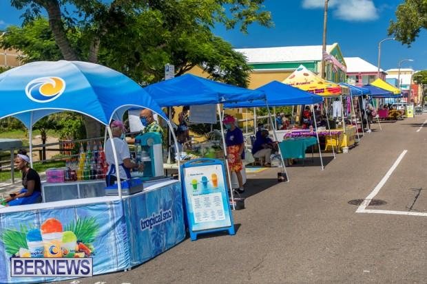 Bermuda Court Street vendors market Hamilton Bermuda Bernews September 5 2021 DF (121)