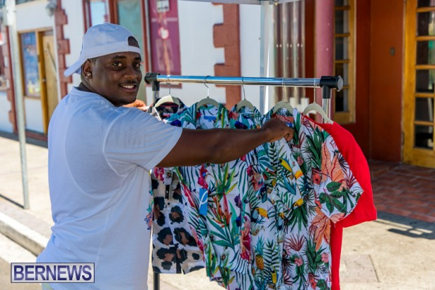 Bermuda Court Street vendors market Hamilton Bermuda Bernews September 5 2021 DF (18)