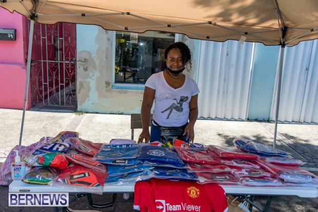Bermuda Court Street vendors market Hamilton Bermuda Bernews September 5 2021 DF (19)