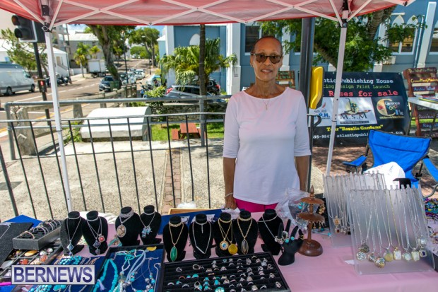 Bermuda Court Street vendors market Hamilton Bermuda Bernews September 5 2021 DF (30)