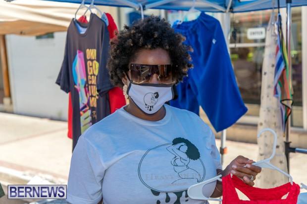 Bermuda Court Street vendors market Hamilton Bermuda Bernews September 5 2021 DF (58)