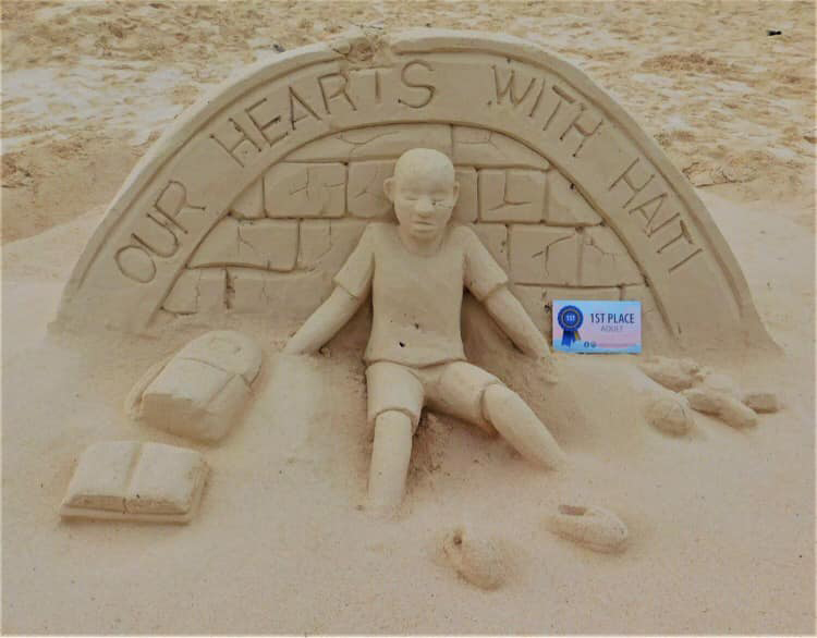 Bermuda Sandcastle Competition Adult Category Sept 2021