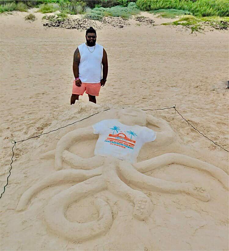 Bermuda Sandcastle Competition Tourist Category Sept 2021