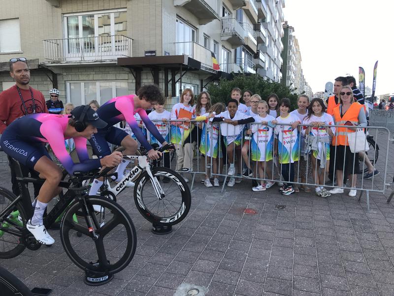 Bermuda's Junior Cyclists In Belgium Sept 2021 (2)