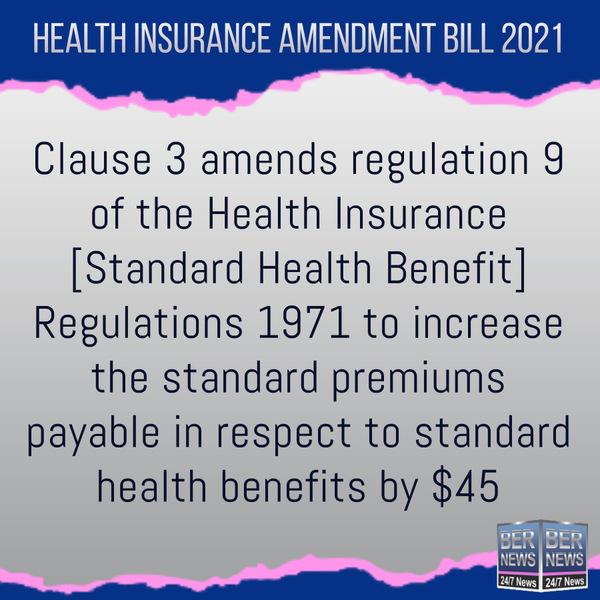 Bernews IG Bill Legislation Bermuda  Health Insurance Amendment Act 2021