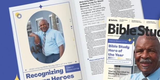 Bible Study Magazine Features Glenn Bascome  (1)