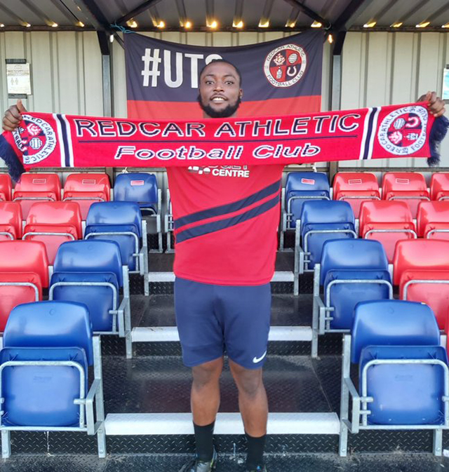 D'Andre Wainwright Signs With Redcar Athletic Sept 2021