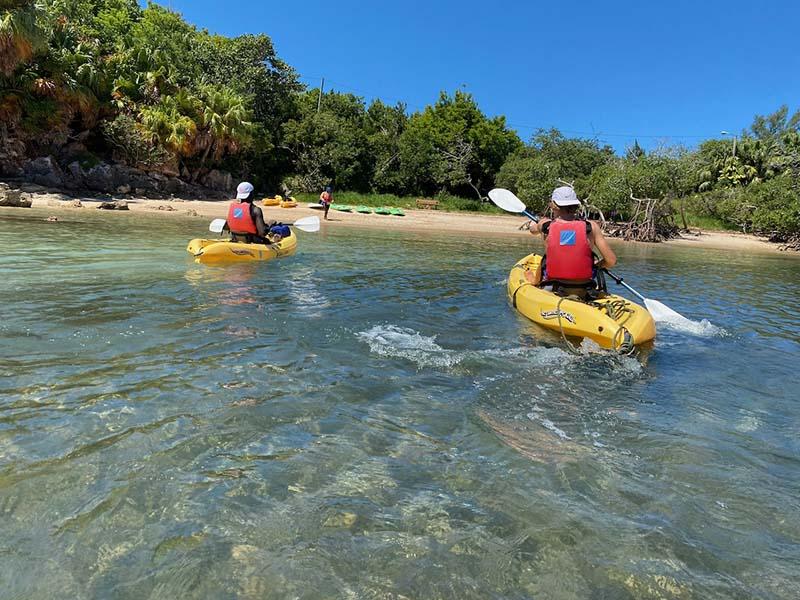 DofE Adventurous Journey Bermuda Sept 2021 4