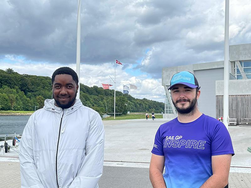 Dontae & Matt Bermuda Sept 2021