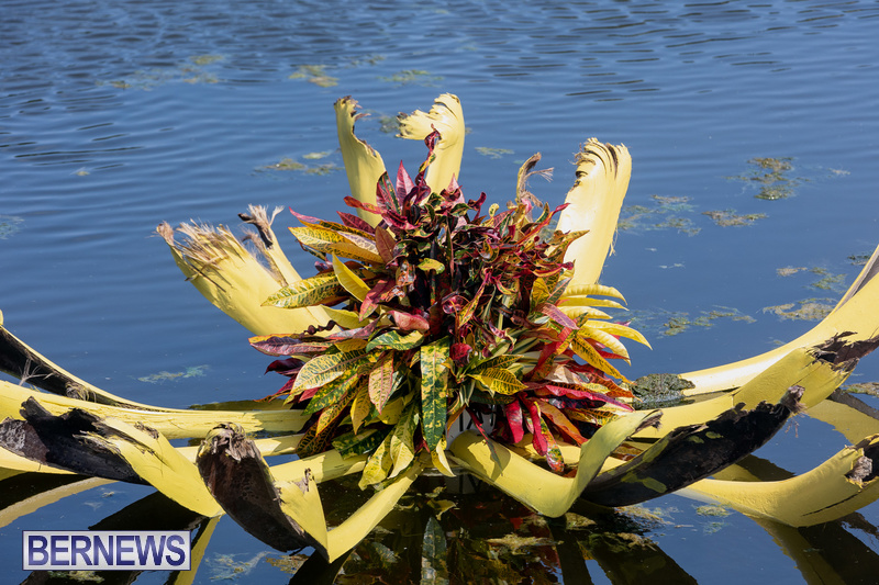 Eves Pond Bermuda sept 2021 flowers Garden Club  (17)