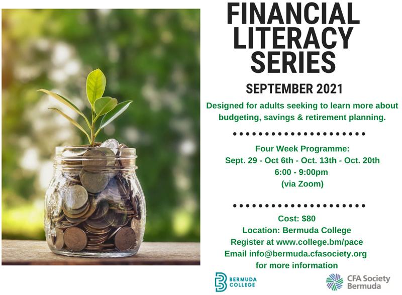 Financial Literacy Series Bermuda Sept 2021