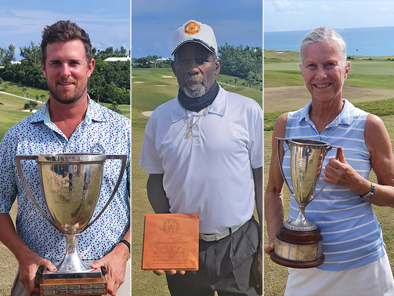 Golf Bermuda September 12 2021