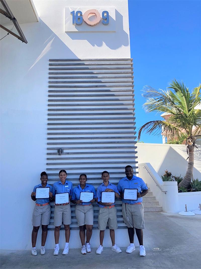 Hamilton Princess Server Certification Programme Bermuda Sept 2021 1