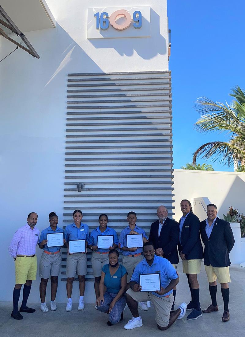 Hamilton Princess Server Certification Programme Bermuda Sept 2021 2