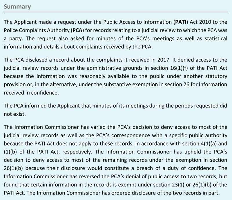 IC Decision 08/2021