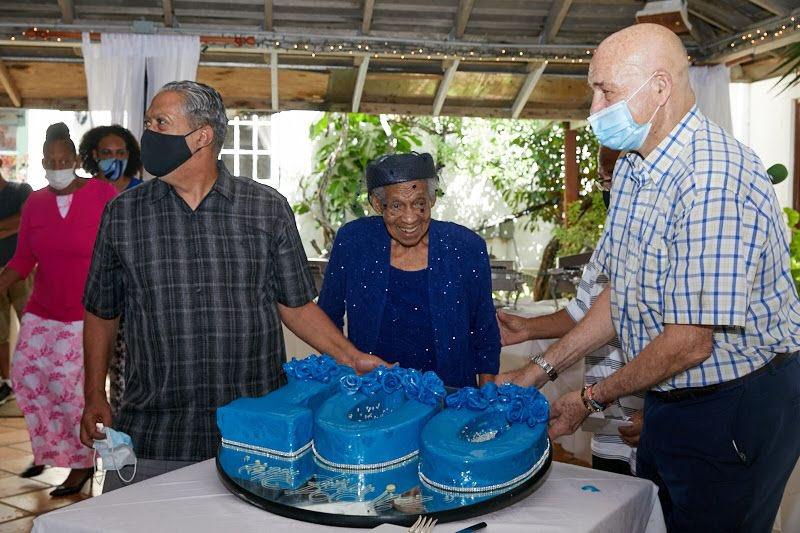 Inez Wilson 100th Birthday Bermuda Sept 2021 2