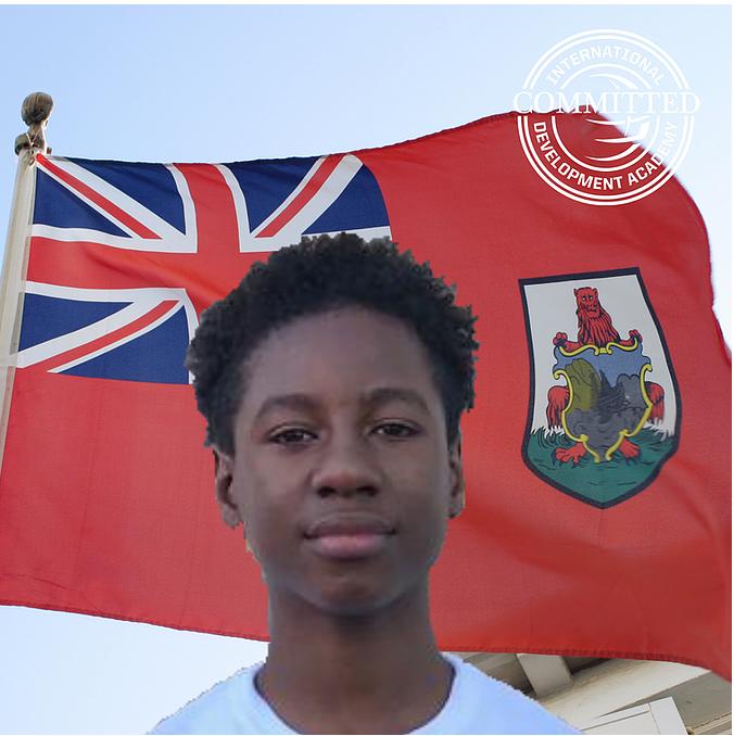 Isaiah Blankendal Bermuda Sept 2021